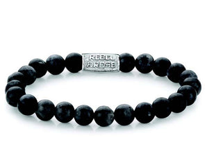 R&R Bracelet - Grey Seduction - 8Mm