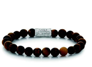 R&R Bracelet - Tiger Rocks - 8Mm