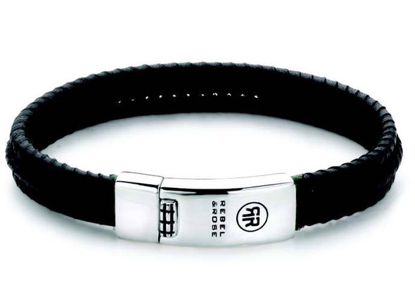 R&R Bracelet -  Twisted All Black M (19,5Cm)
