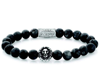 R&R Bracelet -  Grey Seduction - Silver Colored -