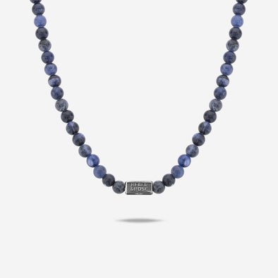 Necklace Midnight Blue - 6Mm (70Cm)