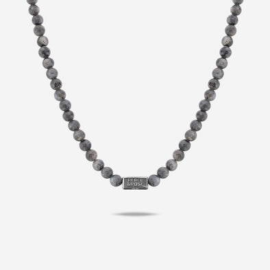 Necklace Grey Seduction - 6Mm (70Cm)