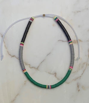 Surfer Choker Black Grey Green