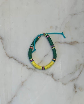 Tribe Color Mix Bracelet Green Yellow
