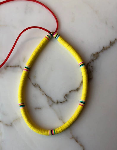 The Surfer Choker All Yellow