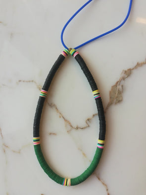 Surfer Choker Black Green