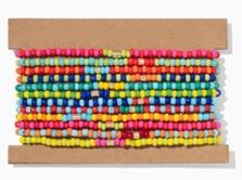 Patchwork Brite Bracelets-Set Of 12