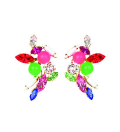 Splash Neon Earrings