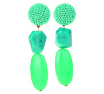 Dragipop Turquoise Earrings