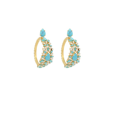 Tina Turquoise Earrings