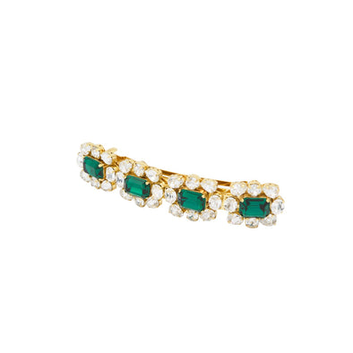 Ritz Emerald Hair Pins
