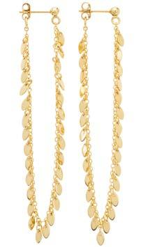 Rio Earrings Gold Plated