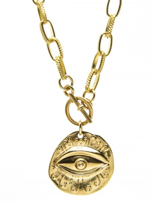 Boho Eye Necklace