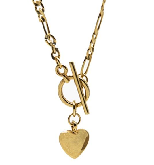 Pendant The Love Chain Gold Plated