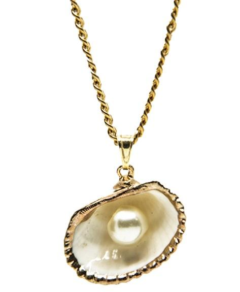 Pendant Shell And Pearl