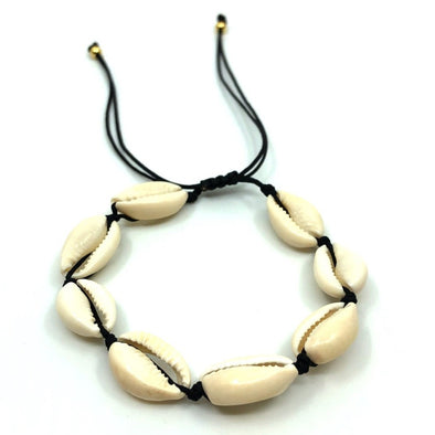 Cowrie Shell Anklet Natural