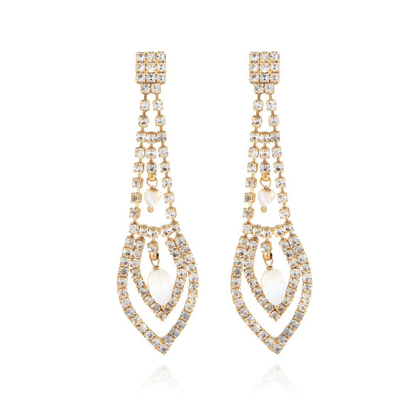 Lucia Strass Earrings