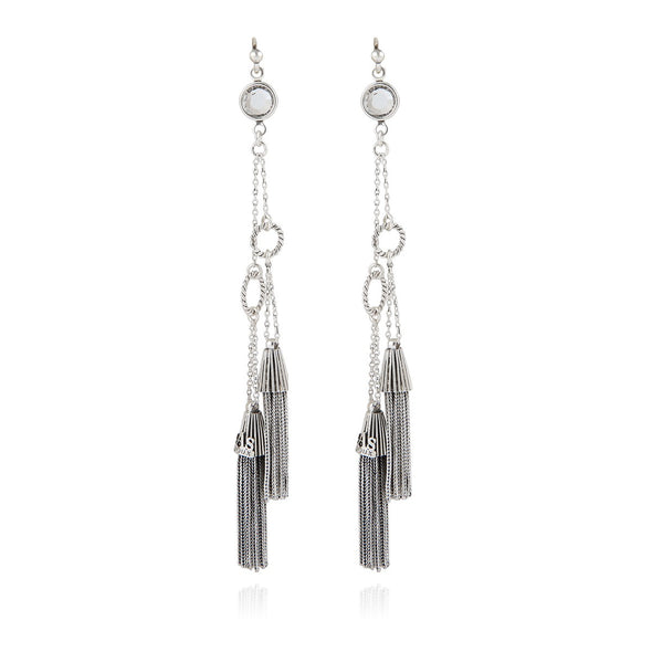 Tresse Earrings Silver