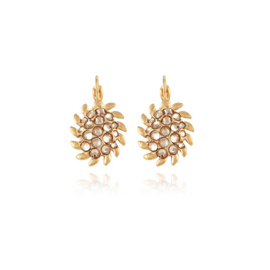 Picot Earrings Gold