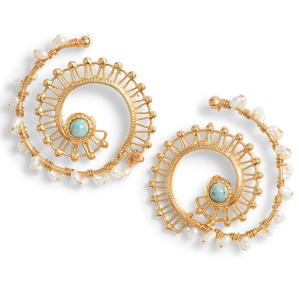 Calliope Earrings Gold