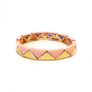 California Triangle Elastic Bracelet
