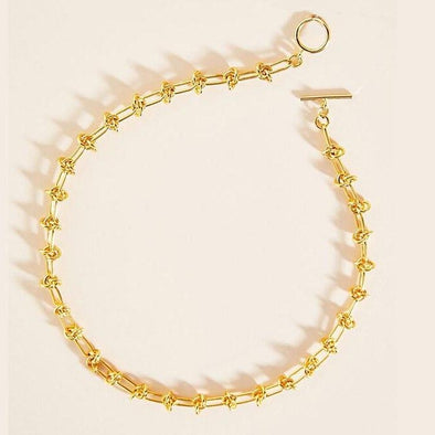 Amelie Chain Necklace Gold Plated 40 cm