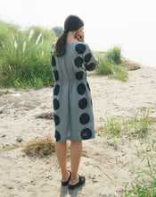 Load image into Gallery viewer, Green Dots Beach Dress