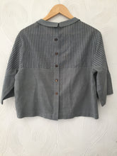 Green Stripes Cotton Top