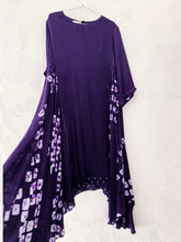 Load image into Gallery viewer, Purple handkerchief Bandhani Kurta