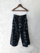 Load image into Gallery viewer, Black Shibori Pants