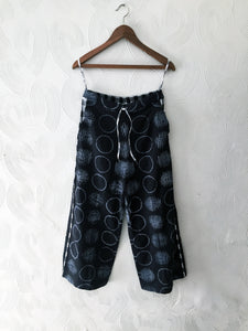 Black Shibori Pants