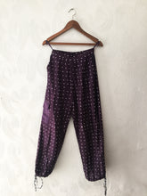 Load image into Gallery viewer, BlackCurrant Bandhani Pants