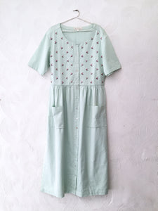 Pastel Green Long Dress