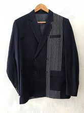 Load image into Gallery viewer, Blue Stripes Blazer set