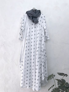 Jamdani Long Dress