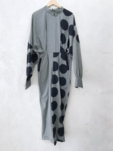 Load image into Gallery viewer, Green Handprinted Drape Jumpsuit