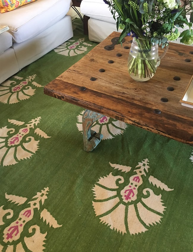 Bombay Sprout Bespoke Dhurrie Rug