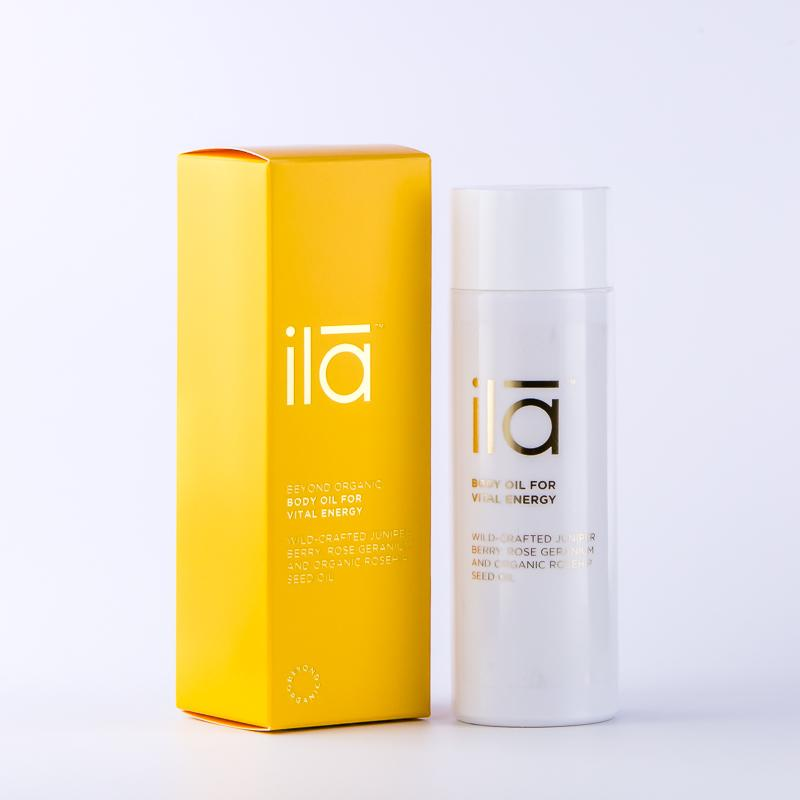 ILA - Body Oil For Vital Energy, 100ml
