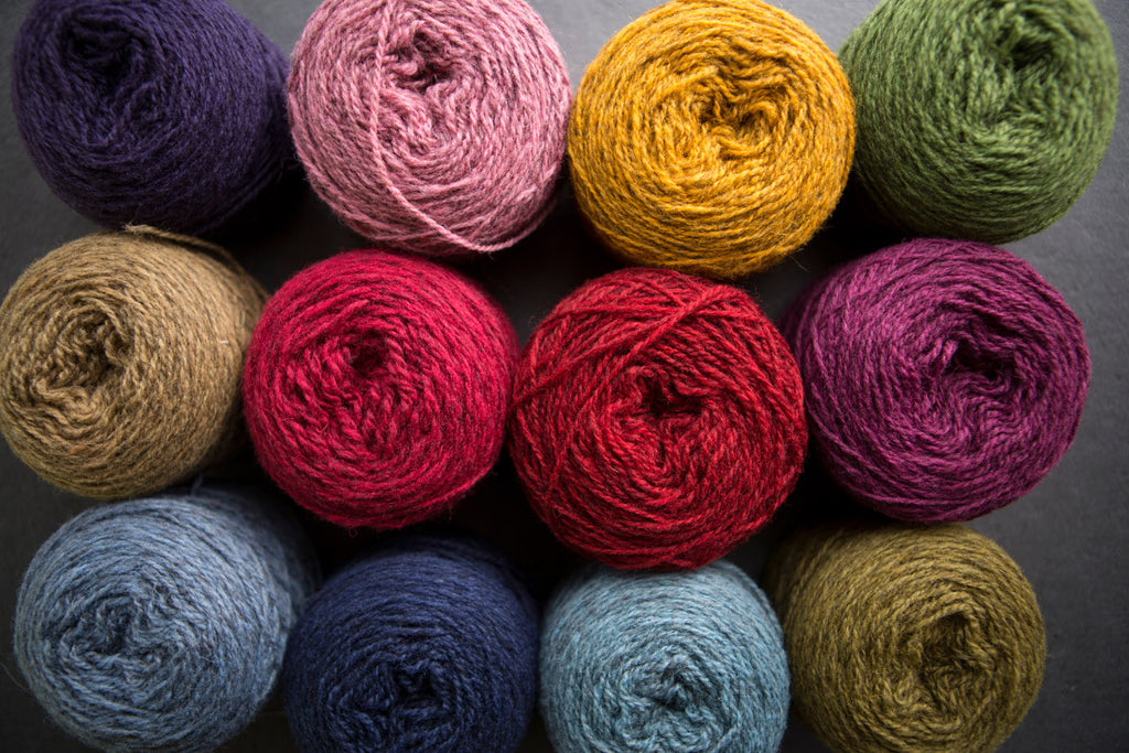 Jumper Weight Organic Yarn (2 ply) - Uradale Yarns