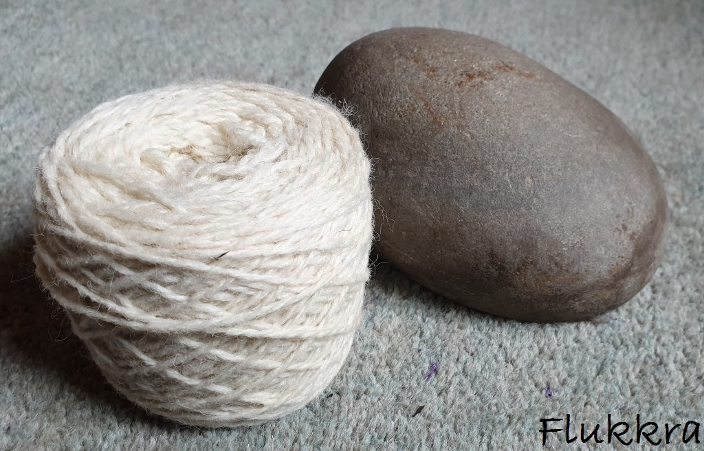 Uradale Yarns - Double knit organic undyed unbleached yarn