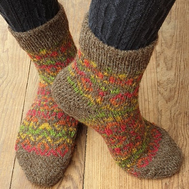 Hairst Socks (ladies) pattern