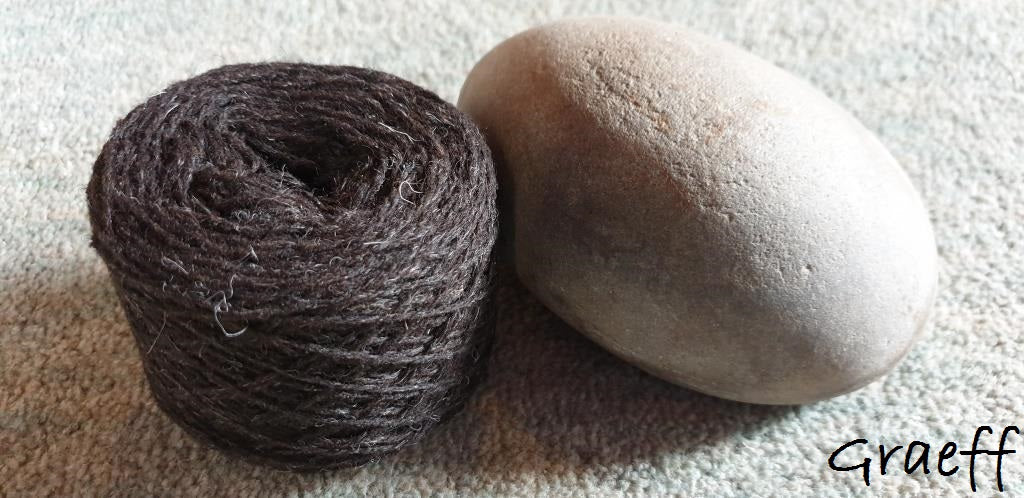 Uradale Yarns - Jumper weight organic undyed unbleached yarn