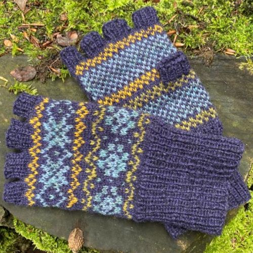 Katie's Fingerless Gloves kit