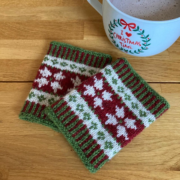 Poinsettia Wrist Warmers kit