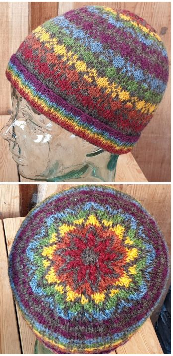 Rainbow Kep I pattern