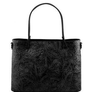 Sac shopping motif floral - FashionBag.fr