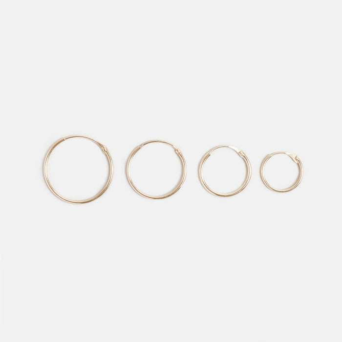 Sleeper Gold Hoops