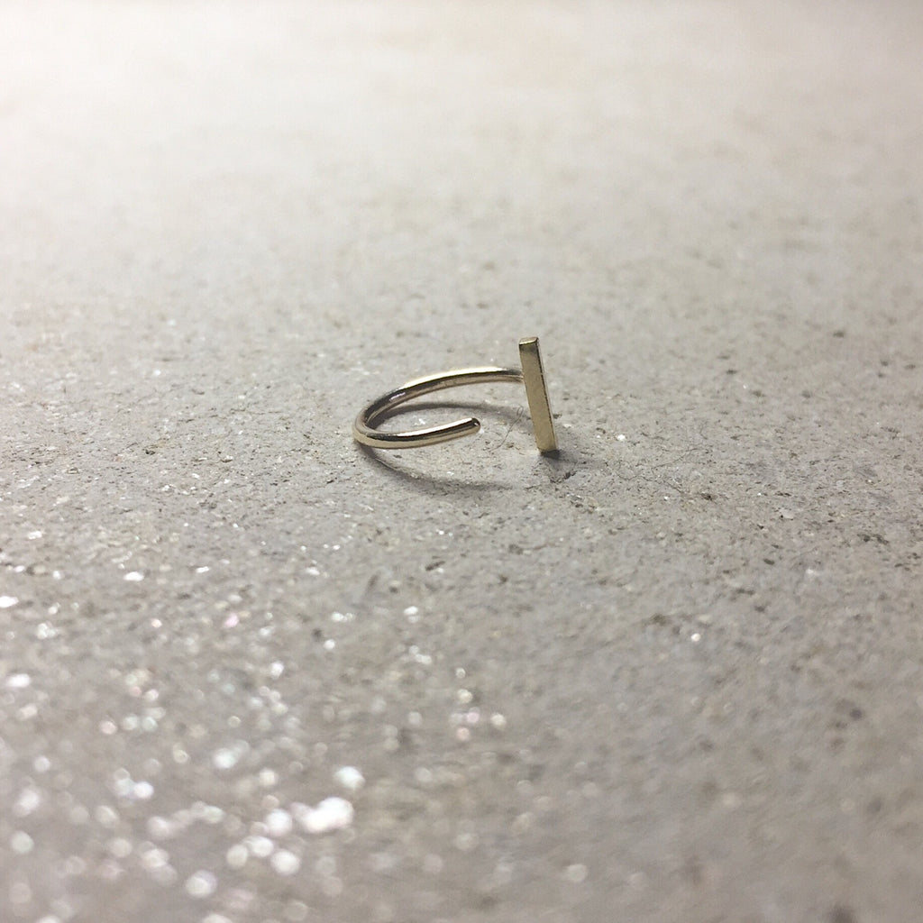 Bar Single Earring