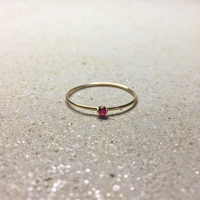 Ruby Valentines Ring