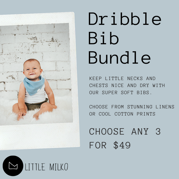 Dribble Bib Bundle